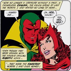 The Vision & Scarlet Witch