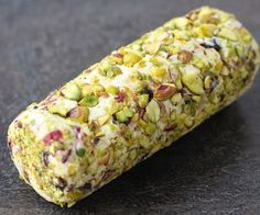 Cranberry Pistachio Cheese Log More