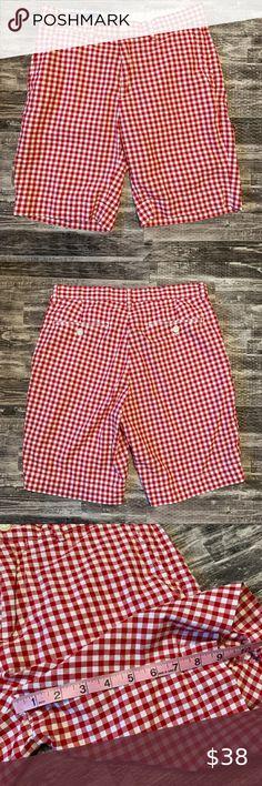 New RALPH LAUREN $35 nwt red white blue green plaid spring pants sz 12m /& 18m