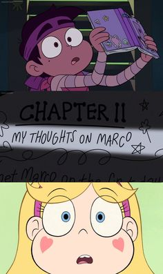 Oh my god Starco confirmed<<<<<<< no but wait what if it says something really bad and then they get in a fight you saw what happened last time they had a bad fight oh no