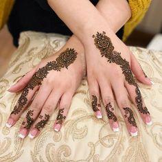 Pretty Henna Designs, Latest Henna Designs, Finger Henna Designs, Mehndi Designs For Girls, Unique Mehndi Designs, Mehndi Designs For Fingers, Beautiful Mehndi Design, Simple Mehndi Designs, Mehndi Desgin