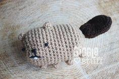 Another beaver shot -- enjoy! #amigurumi #beaver #kawaii #handmadeisbetter #rodent #crochet #yarn #nocturnal #amigurumis #beavers #handmadetoys by gigglestuff21