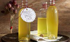 Mango-Vanille-Likör Rezept: Aromatischer Likör mit Mango und Vanille - Eins von 7.000 leckeren, gelingsicheren Rezepten von Dr. Oetker!
