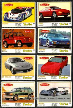Turbo 261 330, Thin Frame. Trading CardsBubble GumPicture ...