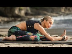 Yoga For Leg Hip Flexibility Hikers, Cyclists, Dancers Deep Stretch Yoga Flow Boho Beautiful Yoga Videos, Workout Videos, Yoga For Legs, Lower Body Stretches, Sore Legs, Hip Flexibility, Free Yoga Classes, Stretch Routine, Youtube Workout