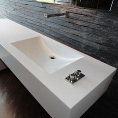 Sink made from Hanex Solid Surfaces: #EngineeredToInspire