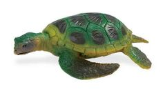 Safari Sea Life Green Sea Turtle Figure by Safari Ltd.. Save 30 Off!. $6.31. We take pride in the quality, innovation and design that have characterized our products for over 3 generations. Each figure includes an descriptive hangtag in 5 languages. All our products are phthalate-free and thoroughly safety tested to safeguard your child's health. From the Manufacturer                Play is the essential joy of childhood. Through play children learn about themselves, their environment an...