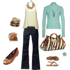 Dressy Casual Dooney & Bourke Zebra purse, created by pamela-barrett-williamson on Polyvore
