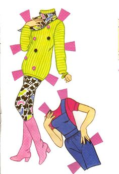 80's Barbie Paper Doll.This From Michael Fox - MaryAnn - Picasa Webalbum* 1500 free paper dolls at artist Arielle Gabriel's The International Paper Doll Society also free Asian paper dolls The China Adventures of Arielle Gabriel *