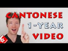 White guy speaking Cantonese after 1 year!