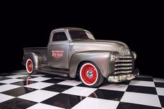 1949 Chevy truck for 'RaceDeck Speed Garage' by Kindig-It Design