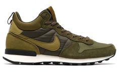 NIKE INTERNATIONALIST MID [MILITIA GREEN / MILITIA GREEN – DARK LODEN] (682844-303)