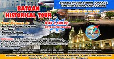 Tour Package 6: BATAAN HISTORICAL TOUR PHP…