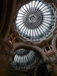 GALERIA GÜEMES - Buenos Aires Art Nouveau - Argentina Art Nouveau, Beautiful Places To Visit, Wonderful Places, Beautiful Architecture, Beautiful Landscapes, Roof Ceiling, Beautiful Castles, South America Travel, Places To Go