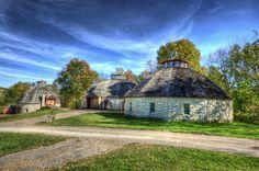Round barns - Solon, IA