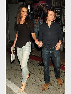 CONCERT photo | Katie Holmes, Tom Cruise