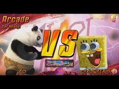 Po (Kung fu Panda 3) Vs Spongebob, Mikey, Patrick  #KungfuPanda3 #Spongebob #Po