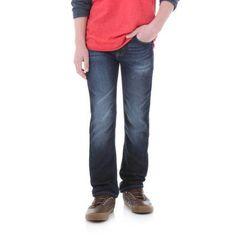 Wrangler Boys Knit Denim (Blue), Size: 7 REG
