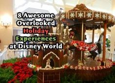 Awesome (and overlooked) holiday attractions and experiences at Walt Disney World