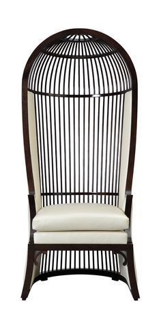 Bird Cage Chair @ Chinese Restaurant--------another way to get the right feel in the peacock room.