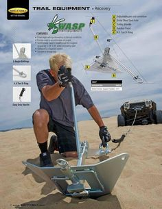 SmittyBilt 2013 Catalog!...no where to tie onto? make your own anchor point