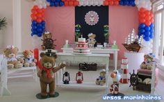 Ursos Marinheiros - Muita Festa Decorações