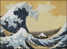 Great Wave off Kanagawa Great Wave of Kanagawa Cross Stitch ...
