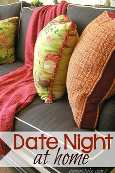 Simple ideas and activities to help you get started planning your next date night at home! Do not let the kids or money be an excuse to skip date night with your sweetie. Dating can be as simple as a game night!