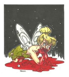 Tinkerbell by Piers Hazell [©2013]