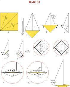 Origami Yelkenli