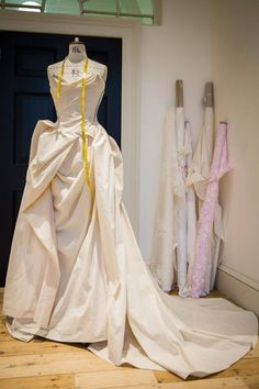 Vivienne Westwood | Bridal 2014 | Haute Couture | dress making | pattern construction | Fabric manipulation |draping | Sewing