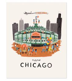 love this chicago print