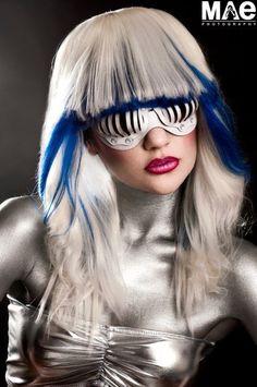 Eyecage Leather Mask in White by TomBanwell on Etsy, $49.00