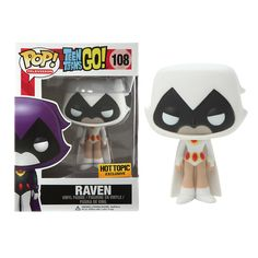 Raven (White) Hot Topic Exclusive Television Funko POP! Vinyl