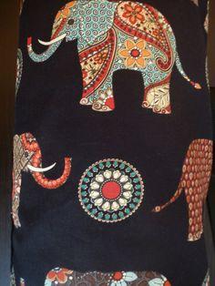 Yoga Mat Bag  Elephant Fabric Yoga Mat Carrier por halfpastzen