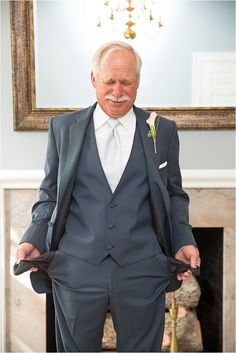 Fun Photo for Father of the Bride ~ Fun Wedding Photos ~ Photo: MD Turner Photography
