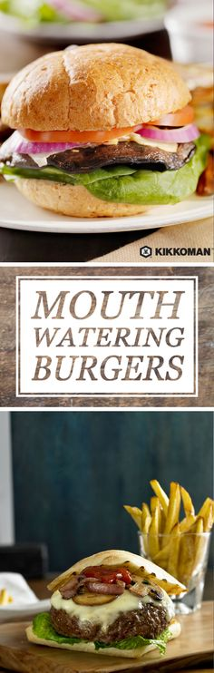 The beauty of burgers is that no two burgers are the same, yet they all share the same few key elements: a bun, a patty, and a range of classic to unique toppings. Whip up homemade burgers with a little Kikkoman®️️ Soy Sauce in the mix, marinate portobello mushrooms, or zing things up with some Kikkoman®️️ Sriracha Hot Chili Sauce. Whether you're a meat lover or a seasoned vegetarian, you can discover fun new burger recipes and other meal ideas at KikkomanUSA.com.