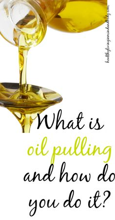 Oil Pulling is an age-old remedy that uses natural substances to clean and detoxify teeth and gums.