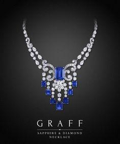 Pin by Misha Alexis on Bijouterie de Luxe Sapphire Necklace, Sapphire Jewelry, Sapphire Diamond, Diamond Jewelry, Diamond Necklaces, Blue Sapphire, Sapphire Pendant, Gemstone Earrings, Sapphire Stone