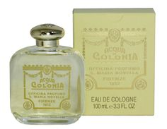 "One of the world's great fragrances, this classic cologne with a citrus base, was created for Catherine de Medici, who, when she went to France to marry Henry II, brought her personal perfume-maker with her. There are various versions of the legend which explain how the ""Acqua della Regina"" (Water of the Queen) came to be commercialized as a cologne. Still hand-formulated in Florence by Santa Maria Novella... ♥"