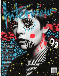 Fun Magazine Cover Doodle Art by Ana Strumpf & Hattie Stewart Graphic Design Typography, Graphic Design Illustration, Graphic Art, Illustration Art, Book Design, Design Art, Web Design, Design Ideas, Cover Art