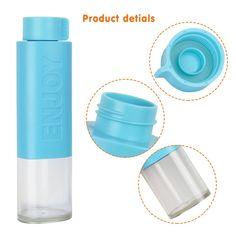 Superisparmio's Post Bottiglia Sport  Just Life Bottiglia in Silicone per l'acqua  e Bevande a Forma di Triangolo per lo Sport  A solo 3.99 Invece di 11.99 Con coupon: 6DAX6NKQ   http://amzn.to/2DNqYn3