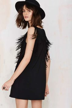 Glamorous Holly Fringe Dress | Shop Clothes at Nasty Gal!
