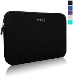 Zikee Laptop Sleeve Case Bag 13 13.3 14 Inch Neoprene Water Resistant Notebook