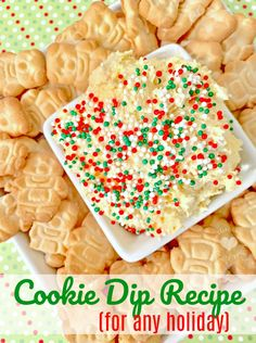 An Easy and Delicious Christmas Cookie Dip Recipe