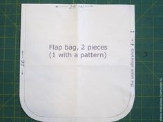 "How to sew a denim bag with flap, decorated with a patchwork block ""Monkey's Paw"". Photo Sewing Tutorial.   Do you have old jeans? Let's gi..."