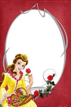 Princesas Disney tarjetas, Imágenes, Marcos Invitaciones de cumpleaños, etc