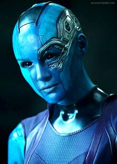 Nebula, Guardians of the Galaxy, 2014.
