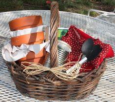 Christy: Salad: Make Your Own Salad-Garden Gift in a Basket