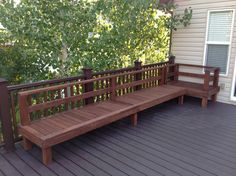 Made completely from 2x4s and 4x4s. covered with water proof deck stain for weatherproofing :)